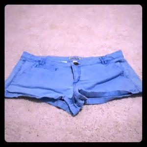Express Blue Shorts SZ 10